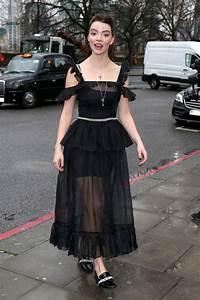 Anya Taylor-Joy Stills at Christopher Kane Fashion Show at London Fashion Week 2018/02/19 222755 ...