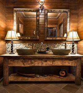 Badezimmer Im Landhausstil : rustikale badm bel ideen das badezimmer im landhausstil einrichten bad pinterest ~ Sanjose-hotels-ca.com Haus und Dekorationen