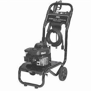 020390 Task Force 2200 Psi Pressure Washer