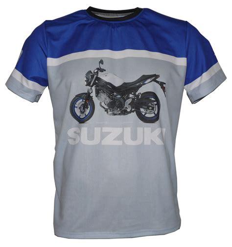 t shirt suzuki suzuki sv650 2017 t shirt with logo and all printed