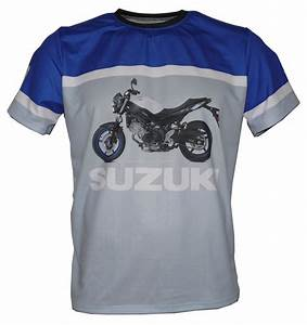 T Shirt Suzuki : suzuki sv650 2017 t shirt with logo and all over printed picture t shirts with all kind of ~ Melissatoandfro.com Idées de Décoration