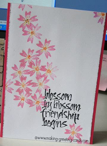 Japanese Style Spring Card
