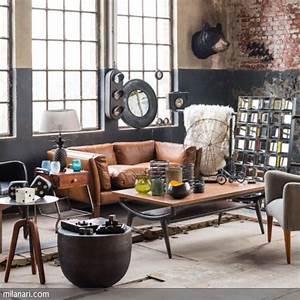 Wohnzimmer Industrial Style : wohnzimmer industrial ~ Whattoseeinmadrid.com Haus und Dekorationen
