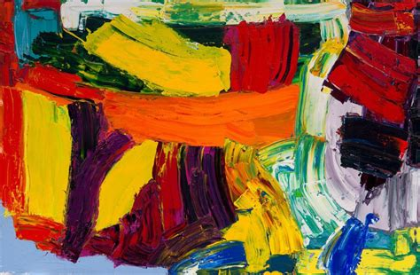 color painting alan gouk new abstract colour paintings painters table