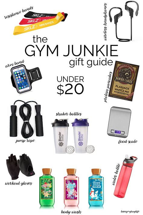 a gift guide for the gym junkie gym gift and christmas