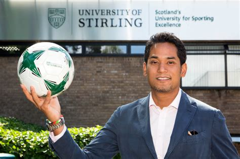 malaysian minister  youth  sport visits stirling