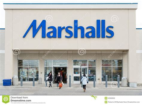 Marshalls Store Facade Editorial Photography - Image: 52302652