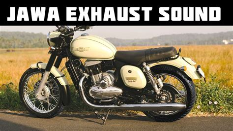Jawa Bike Sound -jawa Motorcycle Exhaust Sound