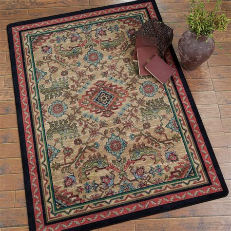 Western Rug by Southwest Rugs Tribal Echoes Saddle Rug Collection Lone