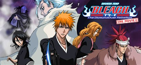 manga  film  bleach  diamond dust rebellion