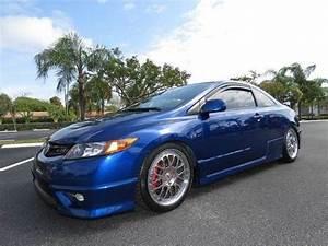 2007 Honda Civic Si Coupe In Fiji Blue