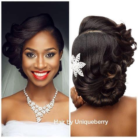 coiffure mariage femme noire 4