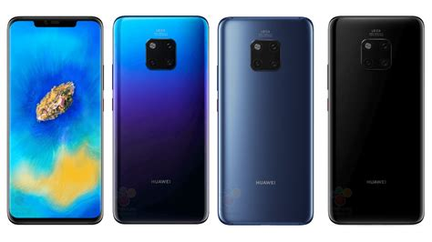 The First Huawei Mate 20 Pro Images Have Leaked Gizmodo