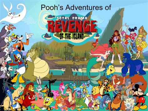 Pooh's Adventures Of Td/ Roti Poster By Magmon47 On Deviantart