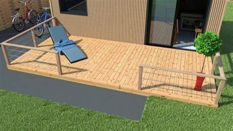 kit terrasse bois quels sont les avantages d une terrasse en kit maison bois