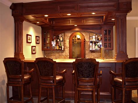 Custom Built Home Bars by Home Bars Pictures How To Build A Custom Residential Bar