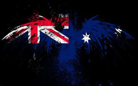 flag  australia hd wallpaper background image