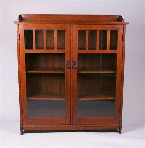 stickley bookcase for sale l jg stickley two door bookcase california historical design