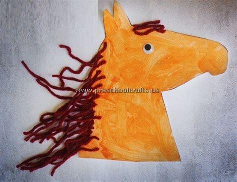 funny horse crafts ideas  kids preschool  kindergarten