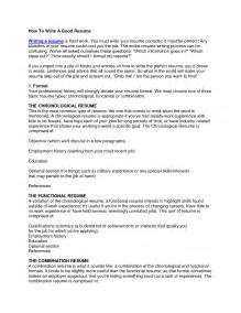 How To Write A Resume Pdf File by How Do I Write A Resume Student Resume Template