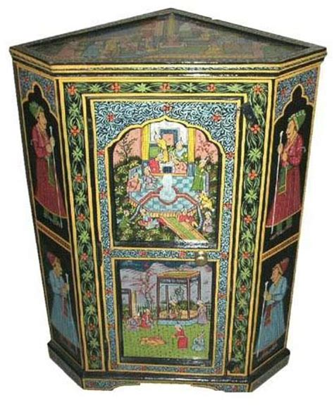 indian hand painted furniture images  pinterest