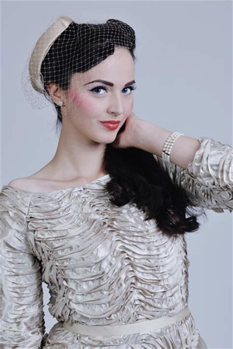hollywood glamour vintage wedding hairstyles