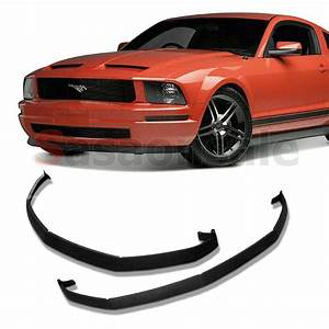2005-2009 Ford Mustang V6 Classic CDC Front Lower Valance PU Bumper Spoiler Lip | eBay