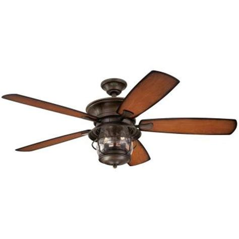 home depot ceiling fans outdoor westinghouse brentford 52 in indoor outdoor aged walnut