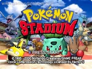 pokemon stadium