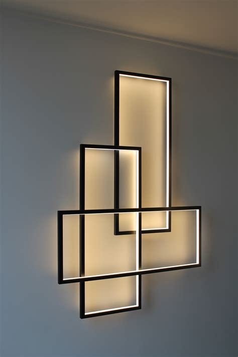 led light design contemporary magnificent sala o pasillo pinteres