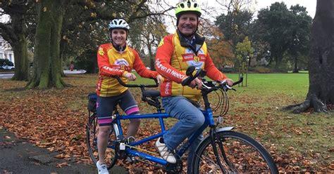 peter levy    big tandem bike ride  charity