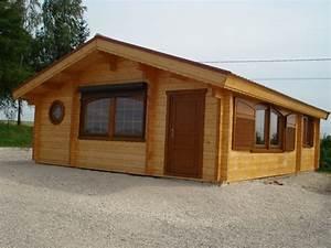 Chalet En Bois Habitable D Occasion : chalet habitation bois lorraine chalet bois en kit ~ Melissatoandfro.com Idées de Décoration