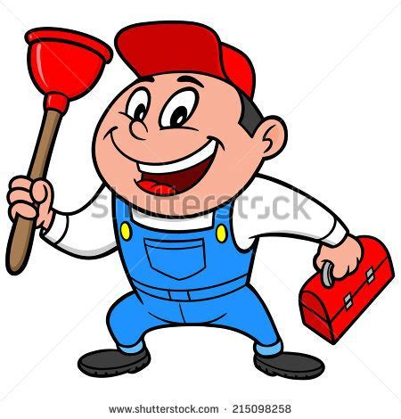 Plumber Cartoon Stock Images, Royalty Free Images