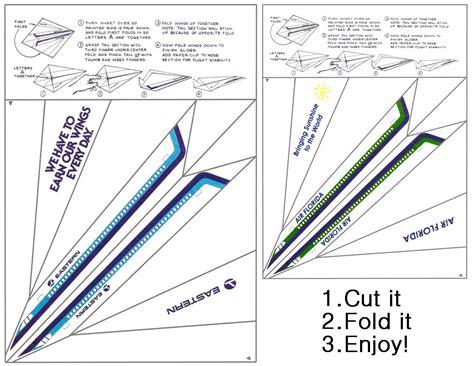 Paper airplane glider pattern by paperluigi99.deviantart ...