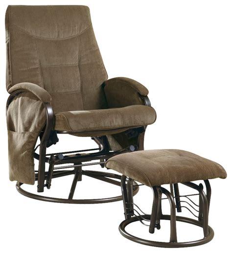 monarch specialties 7253 swivel rocker recliner with