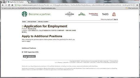 Starbucks Application Starbucks Application Online Video Youtube