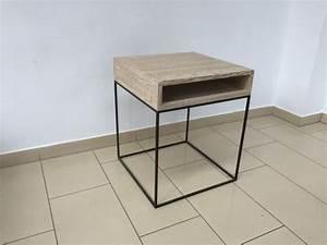 Nachttisch Metall Schwarz : beistelltisch metall holz nachttisch landhaus metall ~ Whattoseeinmadrid.com Haus und Dekorationen