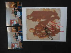 THE MISFITS JERRY ONLY AND CUPE SIGNED AUTO AUTOGRAPH 8X10 ...