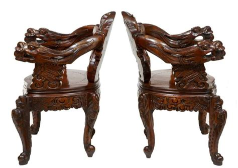 Set Of Four Carved Chinese Armchairs With Matching Coffee Cold Brew Coffee Machine Singapore Maker Instructions Bar Ideas For Office Do I Need A With Grinder Kmart London Bridge Oxo Directions