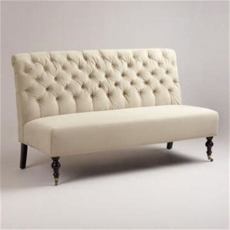 World Market Settee by Dining Room Benches Banquettes Settees World Market