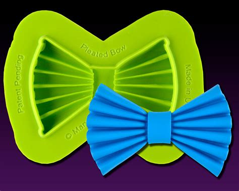 pleated bow mold  fashion cakes