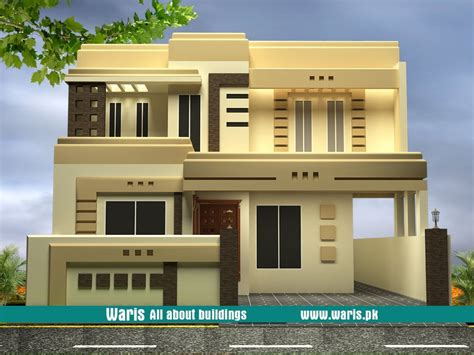 Home Design Plans In Pakistan by 10 Marla 35x65 House Design In Pakistan Elevations In