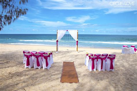 gold coast beach weddings gold coast beach wedding locations
