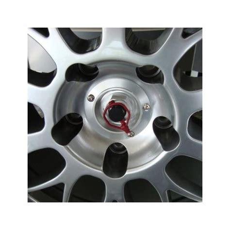 wheel cap center lock race cup car   red pin