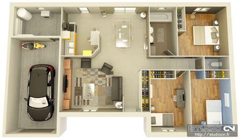 plan de magasin en 3d conrav plan maison 3 chambres 3d