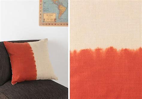 dip dye fabric pillow patterns