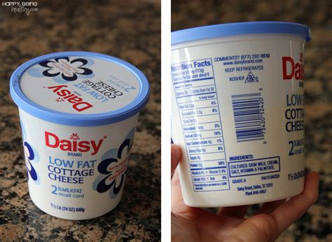 Daisy Cottage Cheese Happy Being Healthy