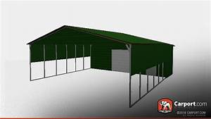 3039 x 5039 storage building with vertical roof style shop With 50 x 70 steel building