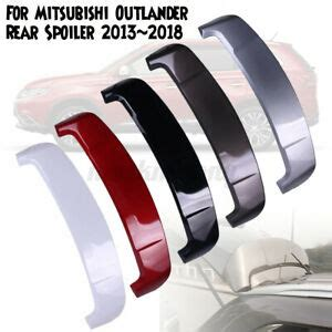 ABS Car Spoiler Wing Fit For Mitsubishi Outlander Rear ...