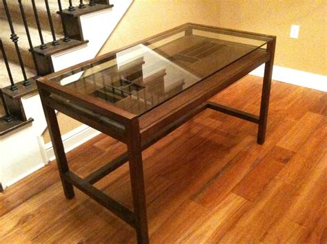 wooden office desk with glass top glass top desk ikea glass top desk burton desk with glass